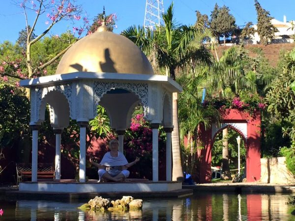 Offener Gebetstempel in der Casa el Morisco